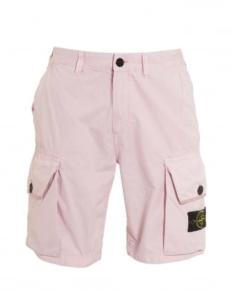 Mens T.CO+OLD Rosa Quartz Pink Cargo Pocket Shorts