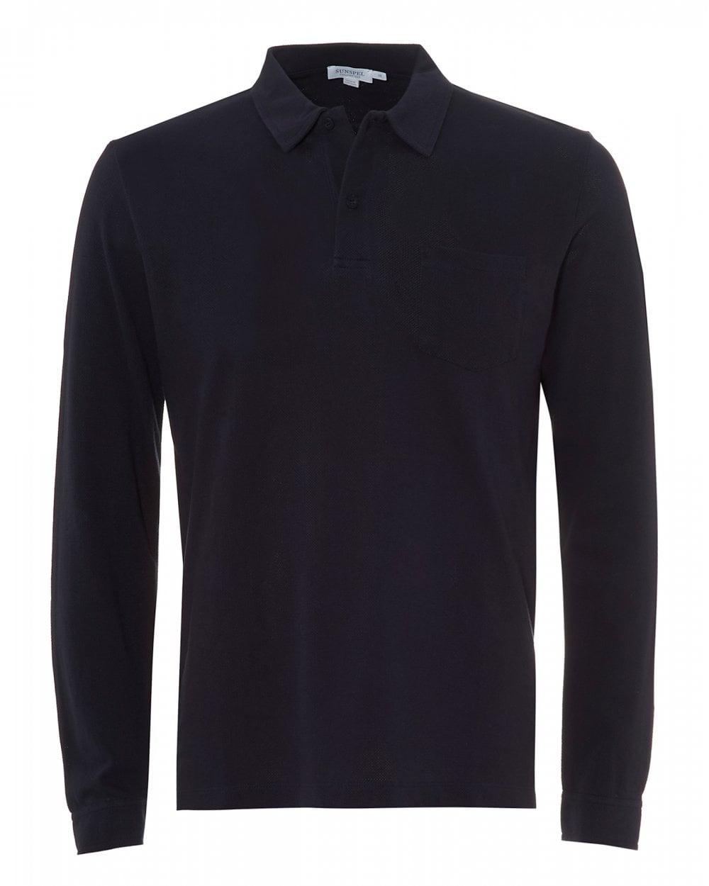 6736f9f8ab9 Sunspel Mens Cotton Riviera Polo Shirt