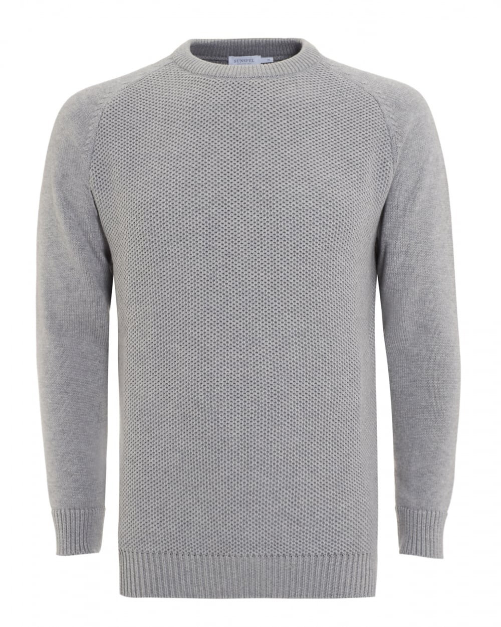 Mens Fashion Grey Knitted Jumpers
