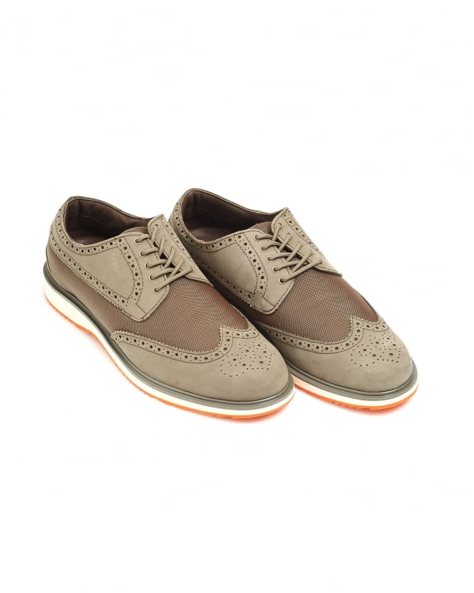 Swims Mens Barry Brogue, Classic Waterproof Leather Shoes