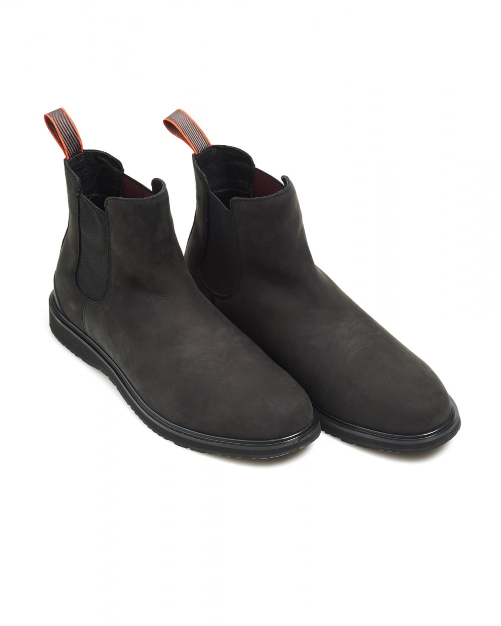 swims mens barry chelsea boot classic black suede boots. Black Bedroom Furniture Sets. Home Design Ideas