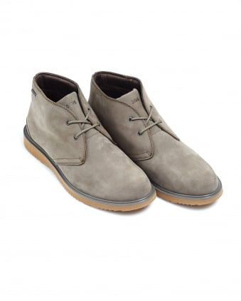 Mens Barry Chukka Boot, Suede Waterproof Shoes