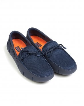 Swims Mens Swims Lace Shoes, Navy and
