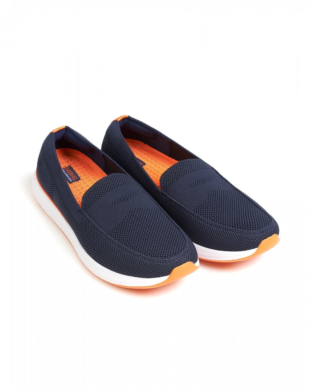 c2f35132ca4 Swims Navy Breeze Wave Penny Loafer