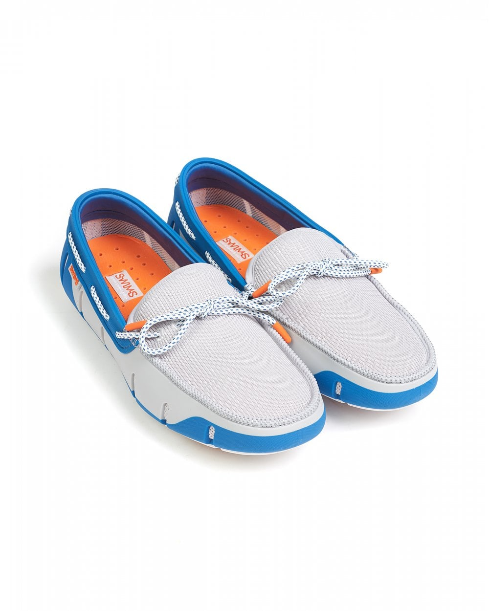 02036bdb2bd Swims Mens Seaport Blue and Alloy Shoes