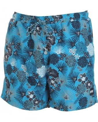 Swimshorts Blue Piranha Tropical Flower Swimwear 50237988