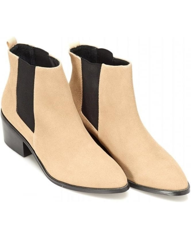 Sol Sana Taupe Chelsea Boot Edger Boot