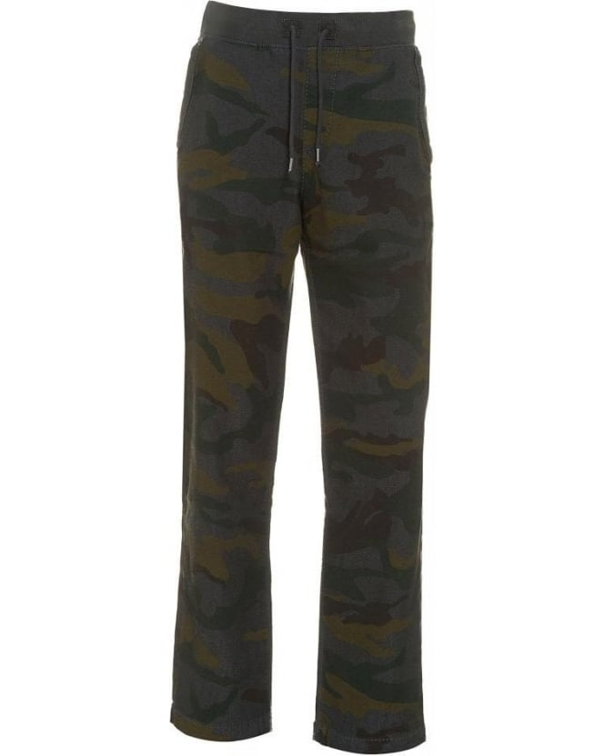 True Religion Jeans Tracksuit Bottoms, Camouflage Print Track Pants