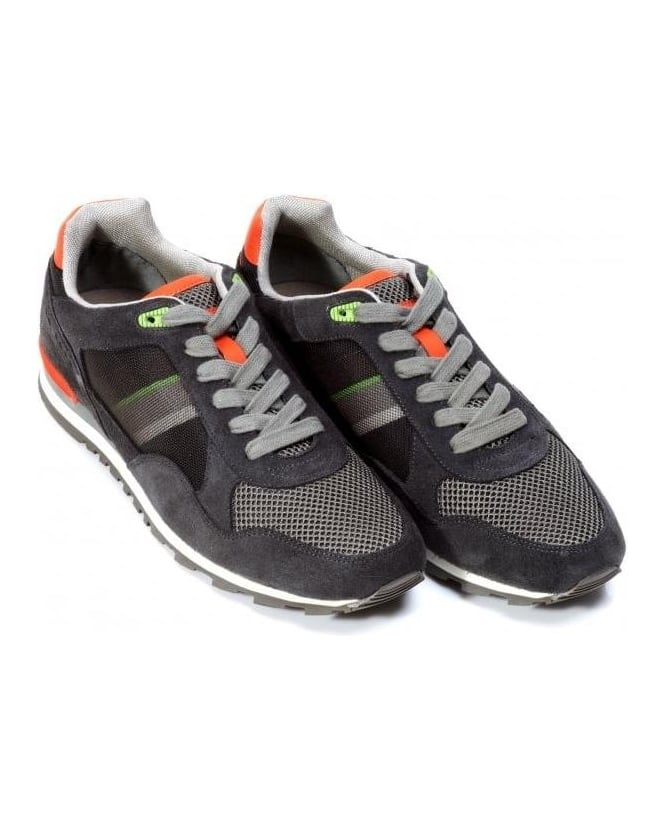 Hugo Boss Green Trainers, 'Runcool' Dark Beige Trainers