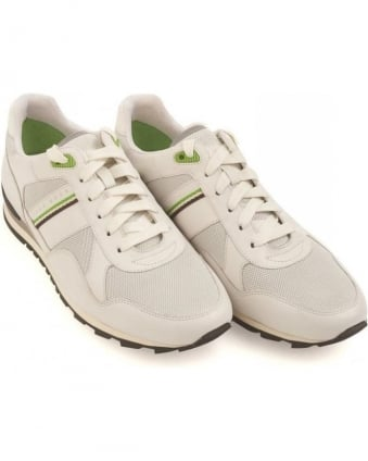 Trainers White Runcool Perf Leather Sneakers