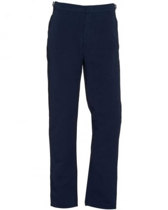 Trousers Bedlington Navy Linen Trouser