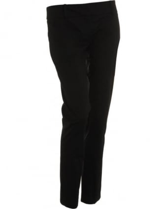 Trousers Black Slim Fit Ankle Trousers BP0368A424