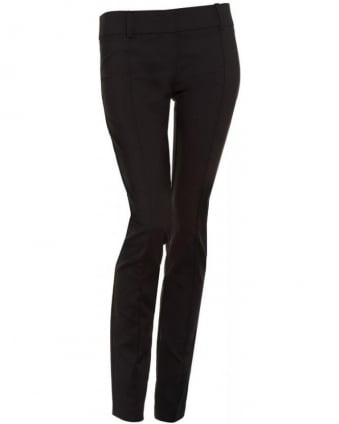 Trousers Black Slim Fit Icon Trouser