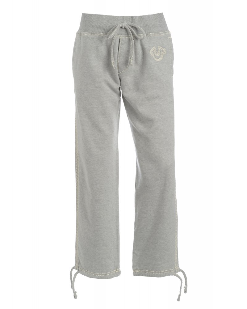 Grey Track Pants QT Quad Stitch Trouser