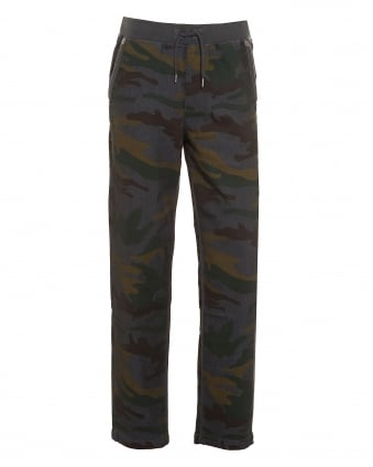 Mens Big T Grey Camouflage Sweatpant