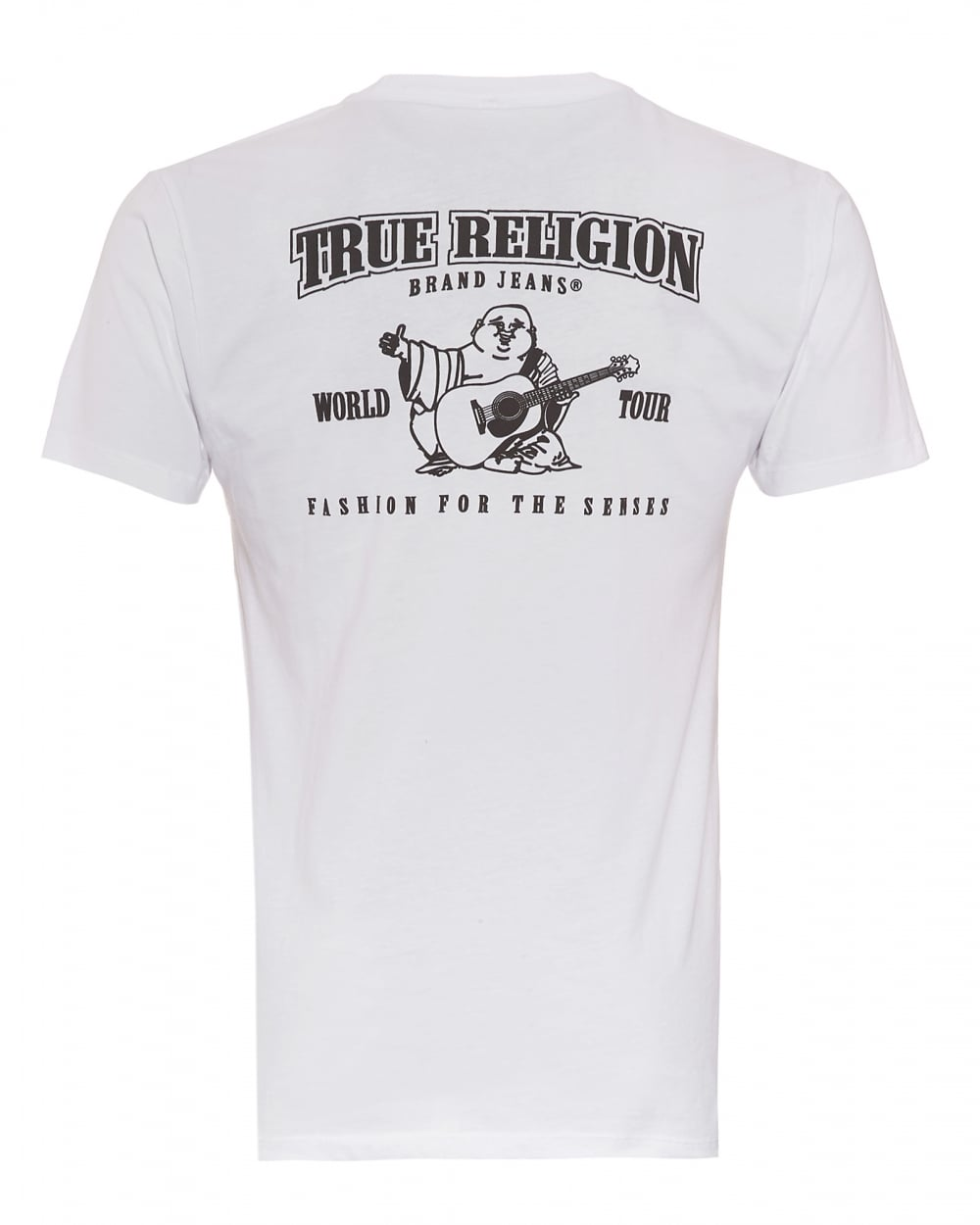 7fc00e11d90ee True Religion Jeans Mens Buddha Back T-Shirt
