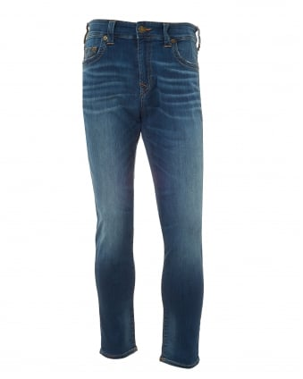 Mens Jack Desert Highway Jeans, Slim-Fit Tapered Stretch Jeans
