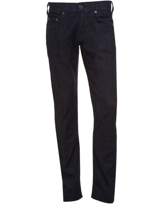 True Religion Jeans Midnight Wash Rocco Slim Fit Jean
