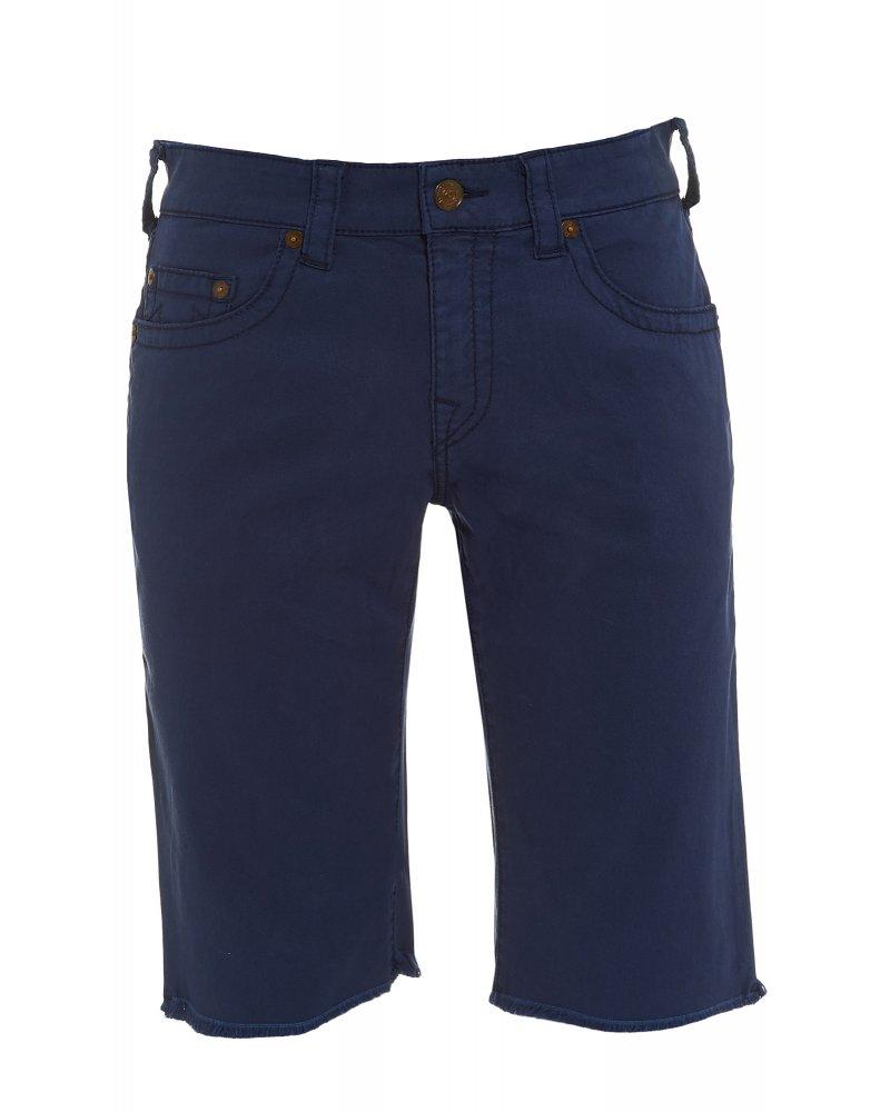 Men s True Religion Jeans Regular Fit  Ricky  Navy Blue Shorts f9916a72dfdb