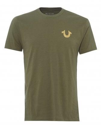 1af8befe02 Mens Classic Buddha Logo T-Shirt, Military Green Tee SALE · True Religion  ...