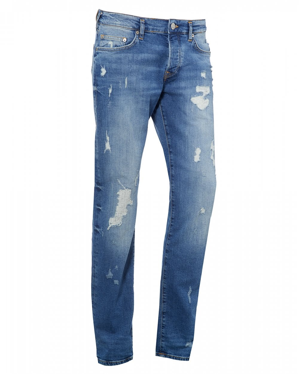 19e6c148d2a True Religion Mens Rocco Destroyed Jeans