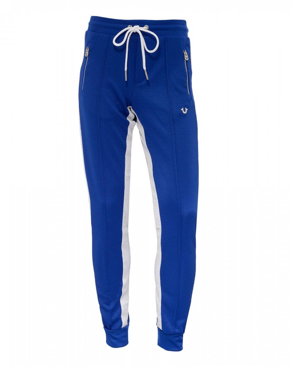 f692b4a4e True Religion Mens Striped Sweatpants