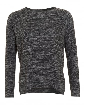 Womens Cade Top, Marl Grey Long Sleeve T-Shirt
