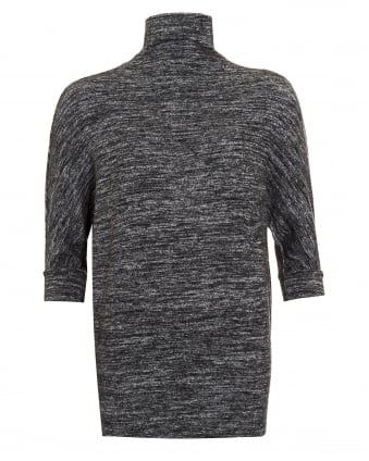 Womens Eada Jumper, Funnel Neck Knitwear