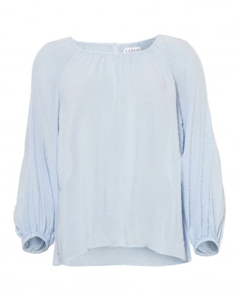 c7266b0f941 PALE BLUE Velvet by Graham   Spencer Womenswear