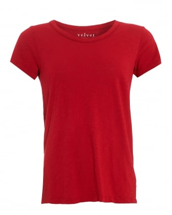 Womens Tilly T-Shirt, Red Mars Tee