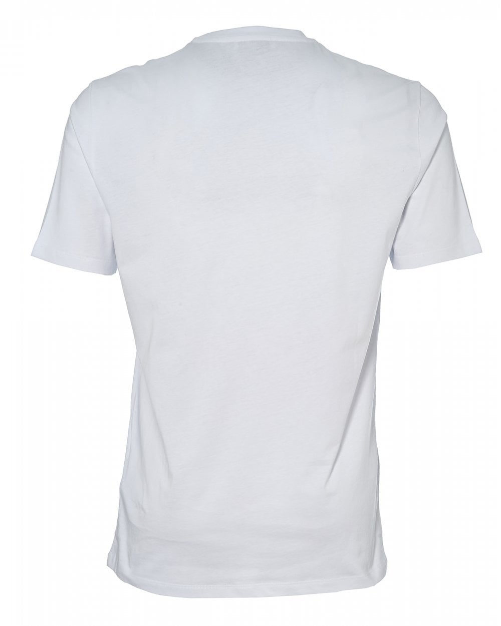 dcaf22617 Versace Collection Mens 1/2 Medusa Logo T-Shirt, White Tee