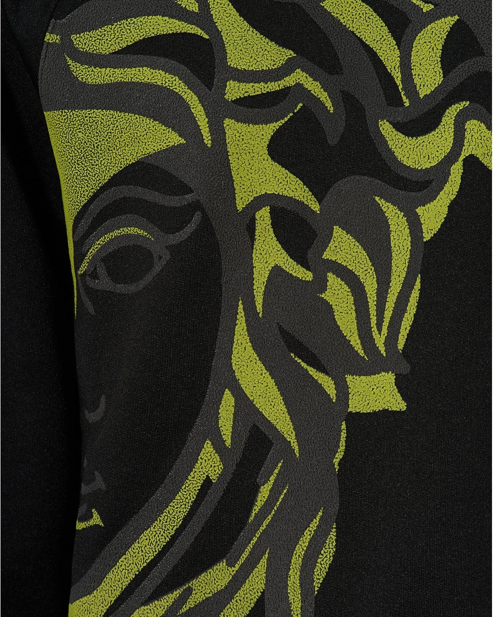 e764ccee0 Versace Collection Mens 1/2 Medusa Sweatshirt, Black Sweat