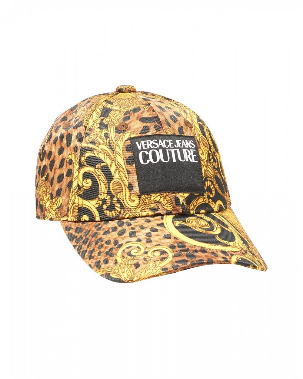 e00a1f0b4 Mens Baroque Baseball Cap, Gold Logo Hat