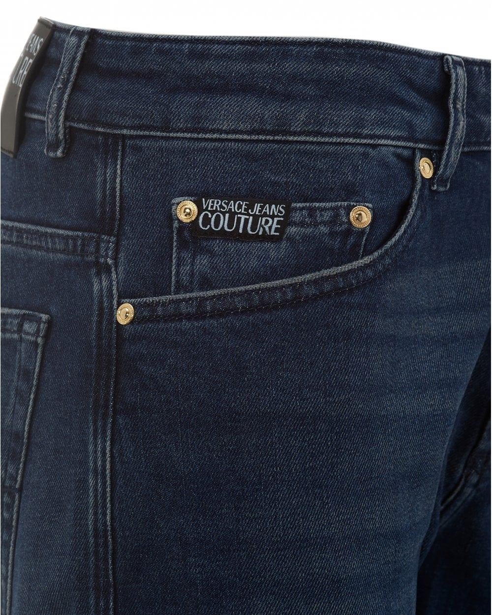 d28d98f37d Mens Skinny Fit Jeans, Mid Washed Blue Denim