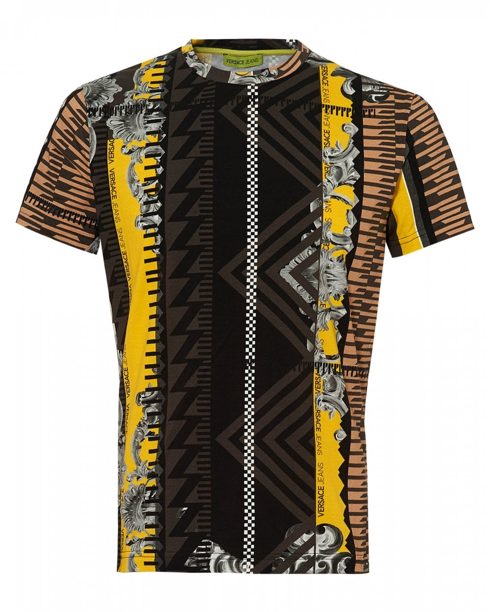 92987f5c5b7 Versace Jeans Mens Baroque Print T-Shirt