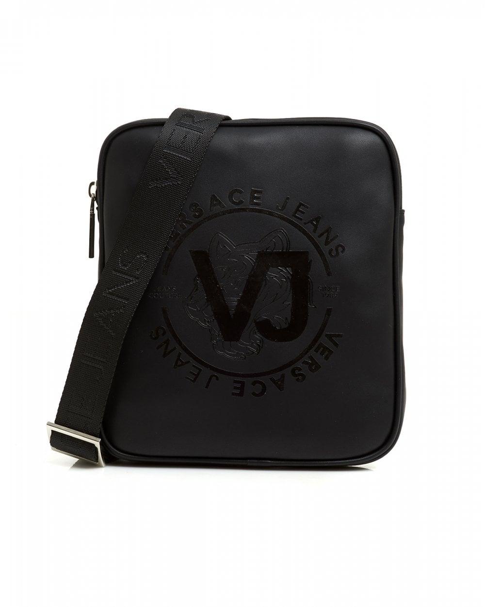 Versace Jeans Mens Tiger Cross Body Messenger Bag 3e1bd00d04f87