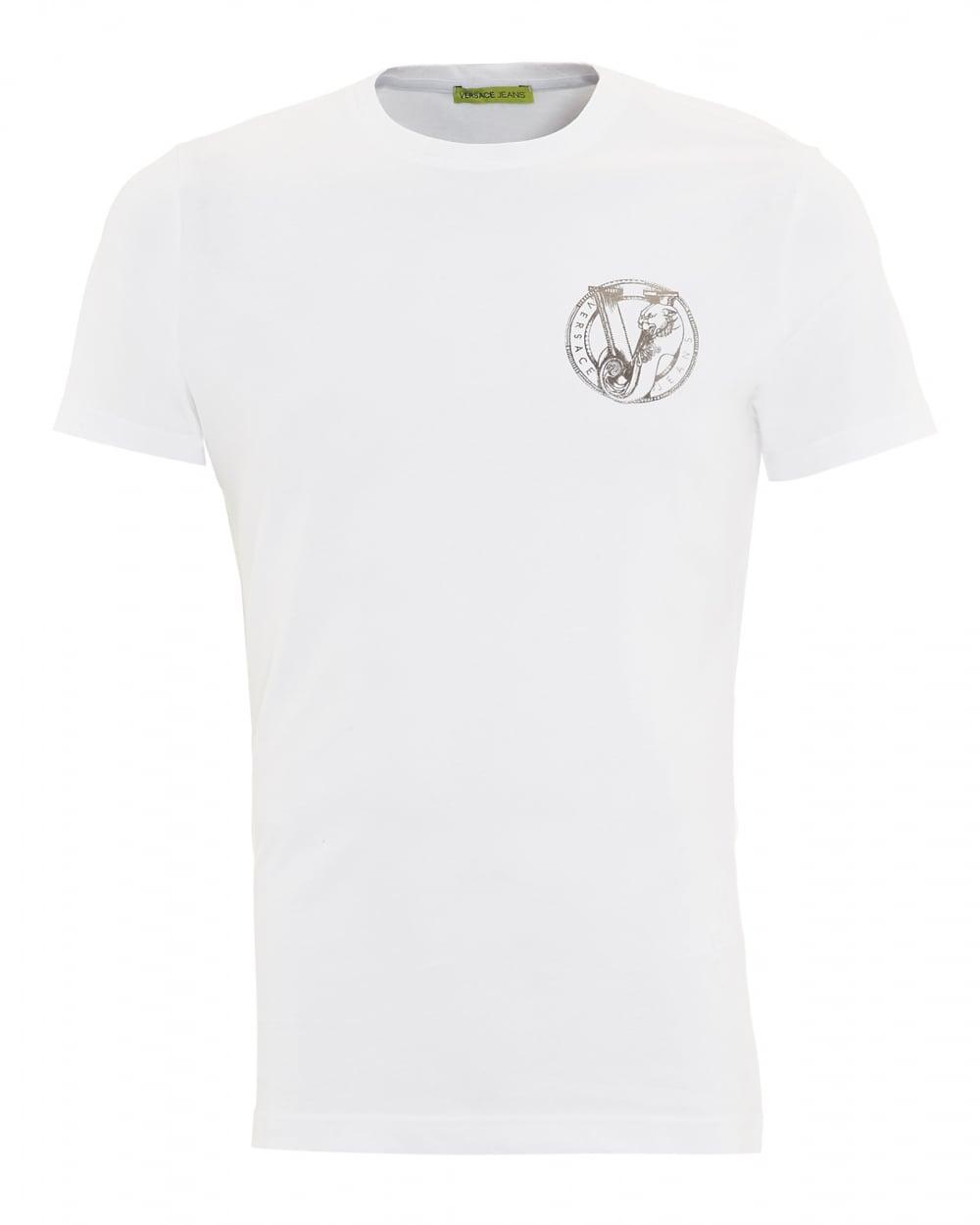 plain white versace t shirt