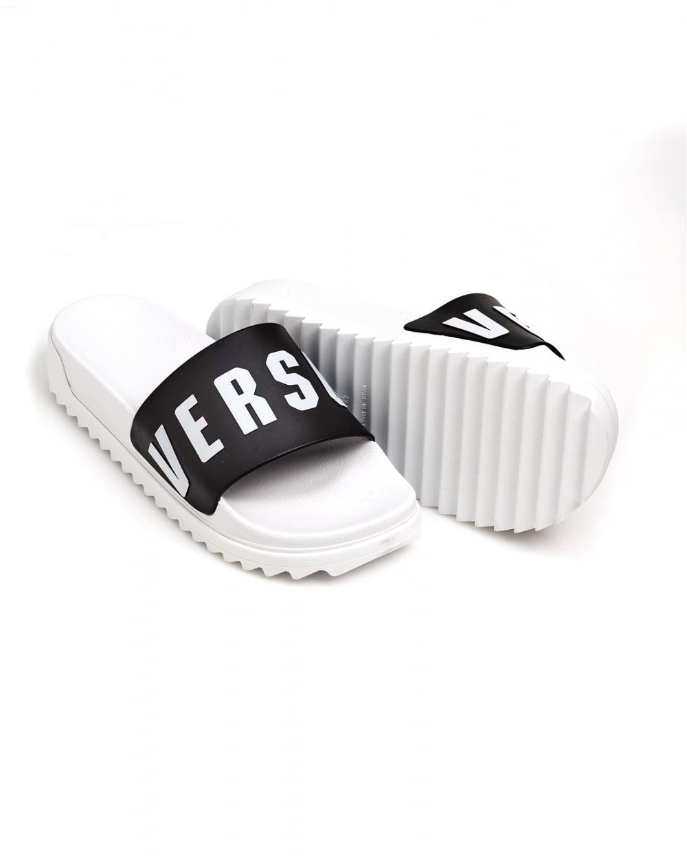 9fb9c02a0405 Versus Versace Mens Rubber Sliders