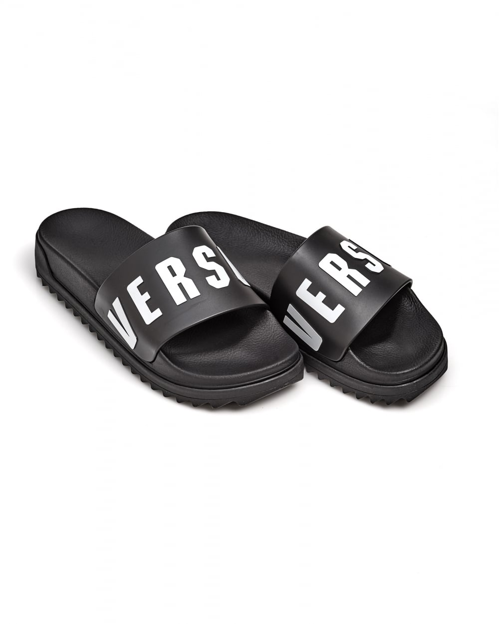 be77e43bac089f Versace Versus Mens Rubber Sliders