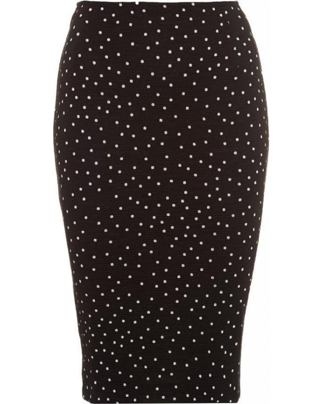 I Blues 'Viadana' Polka Dot Midi Skirt