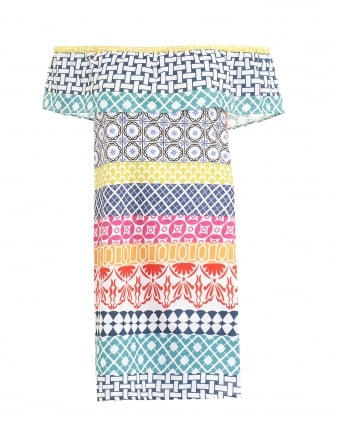 Womens Amelie Geo Print Multi San Tropez Dress