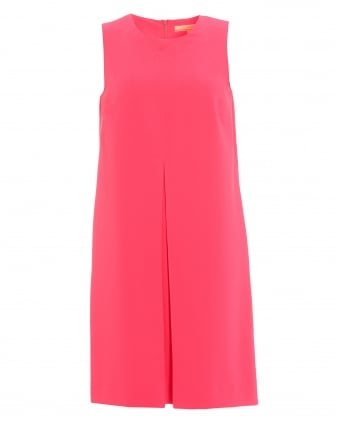 Womens Mandi Neon Pink Dress