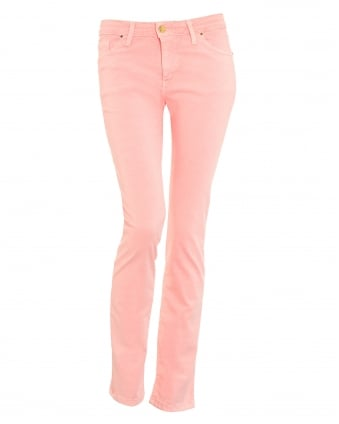Womens Vaqureo Light Pink Skinny Jeans