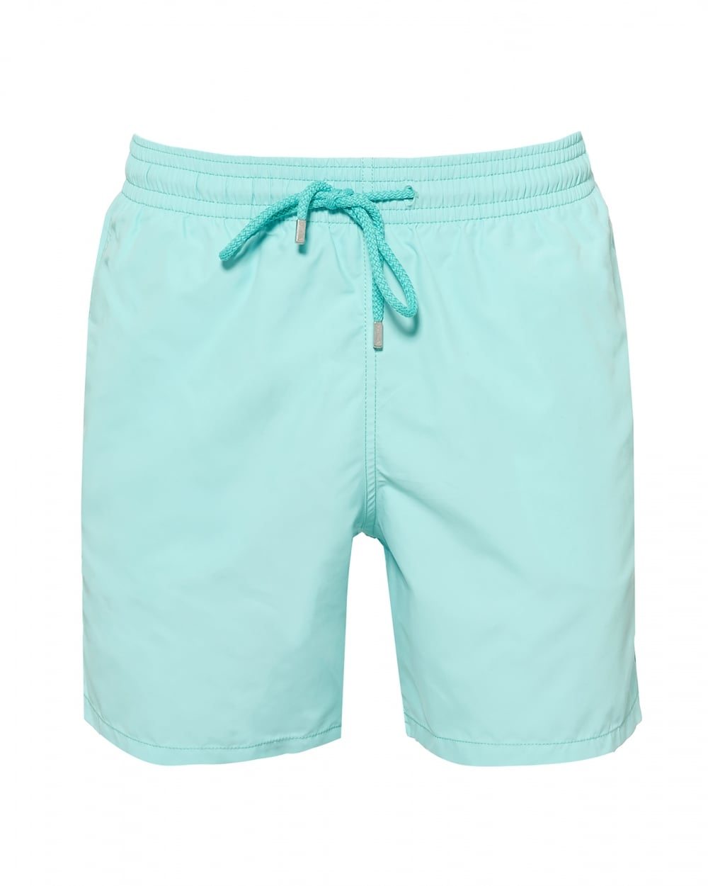 cd19f7d5ff Mens Moorea Plain Swimshorts, Lagoon Green Swimming Trunks