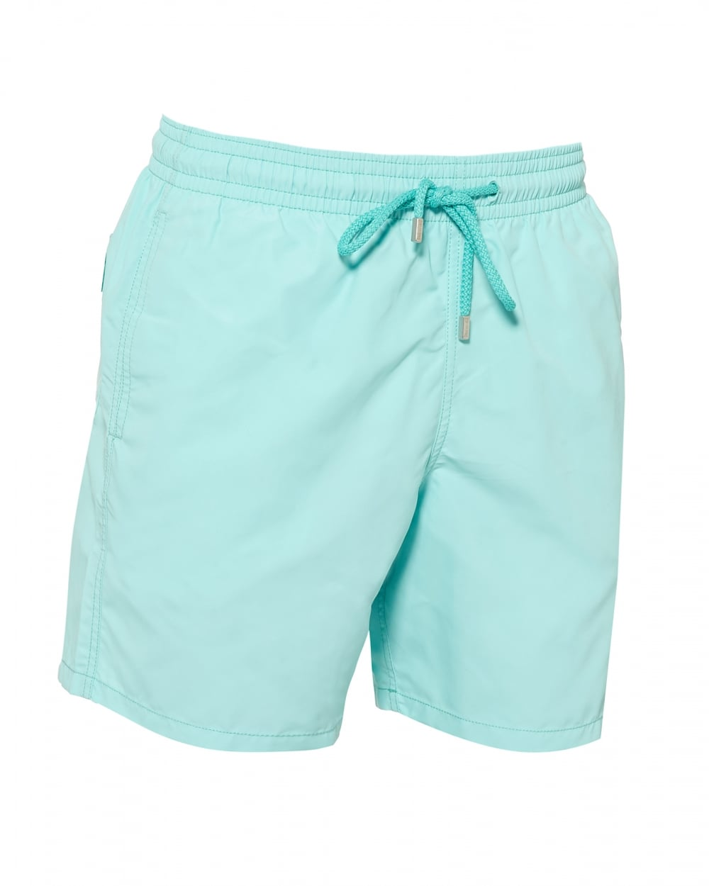 e2015df2fa Vilebrequin Mens Moorea Plain Swimshorts, Lagoon Green Swimming Trunks