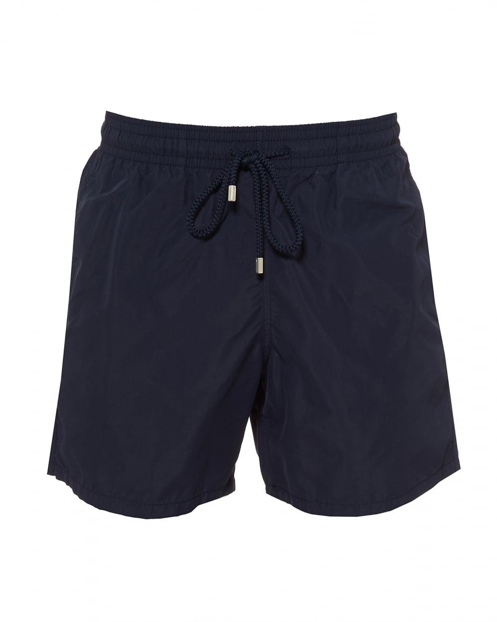 9b871205ec Vilebrequin Mens Moorea Plain Swimshorts, Navy Blue Swimming ...