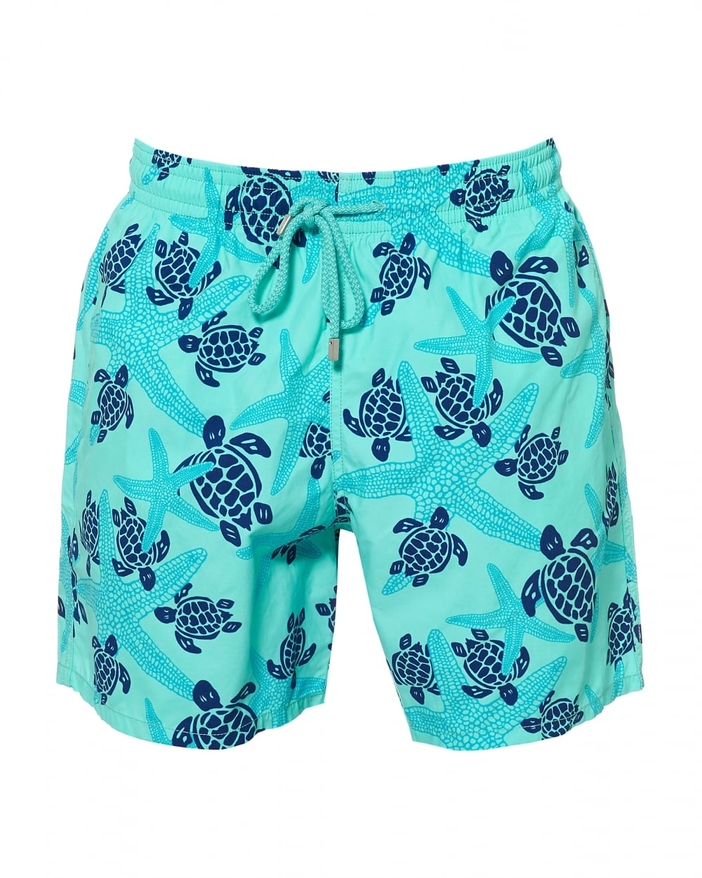 78157f896a Vilebrequin Mens Moorea Swimshorts,Blue Starfish Print Swimming Trunks