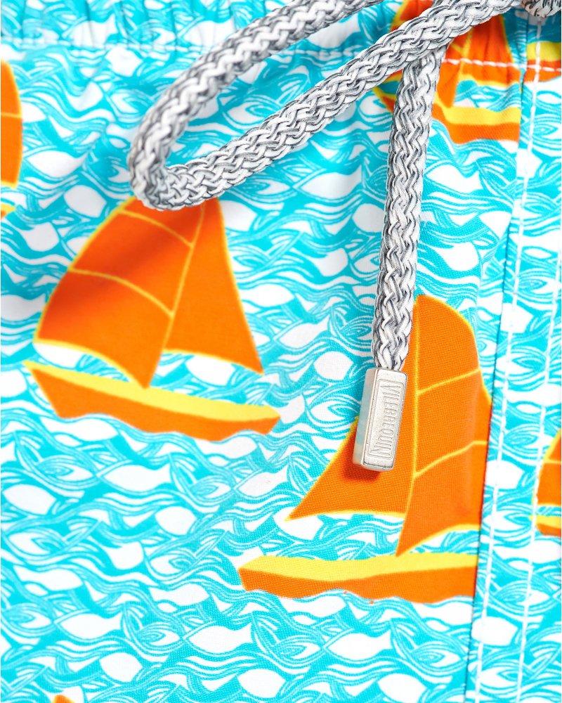 vilebrequin turquoise sailboat print u0027moorea u0027 swim shorts
