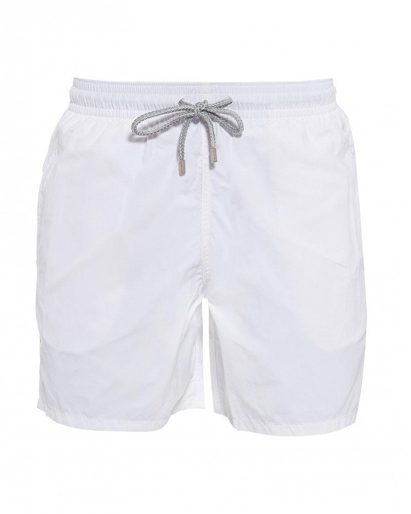 Men Vilebrequin White  Moorea  Swim Shorts at Repertoire Fashion 23818cc32