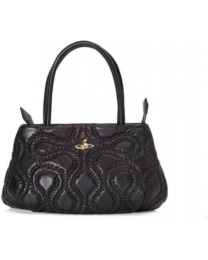 Vivienne Westwood Bags & Purses Quilted Squiggle Shopper Orb Bag